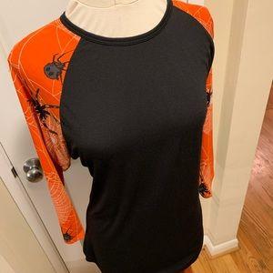 NWT Lu La Roe Randy Spider XL 3/4 sleeve tee